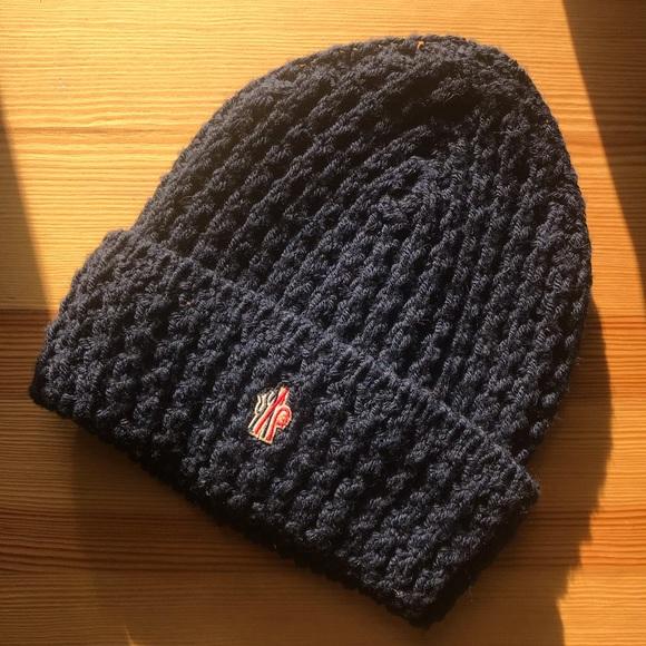 7c5ba125e82 Moncler Grenoble knit hat. M 5c47768abaebf670e1d4740a